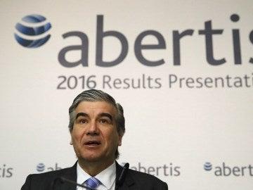 l vicepresidente y consejero delegado de Abertis, Francisco Reynés