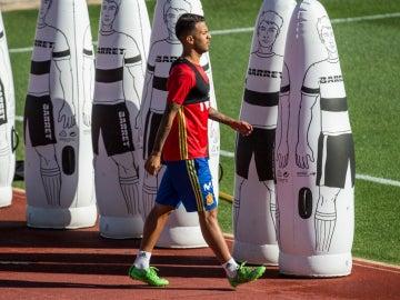 Jonathan Viera, con la Selección