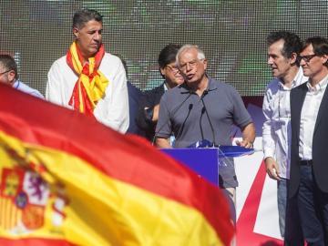 El exministro socialista Josep Borrell