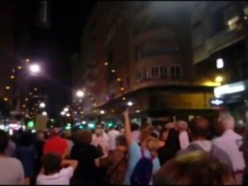 Adif retoma el transporte en autobuses en tramo ferroviario de Murcia capital