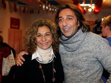 Lolita Flores y Antonio Carmona