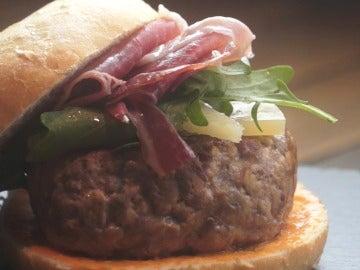 La hamburguesaca ibérica de Yumland. Canela fina.