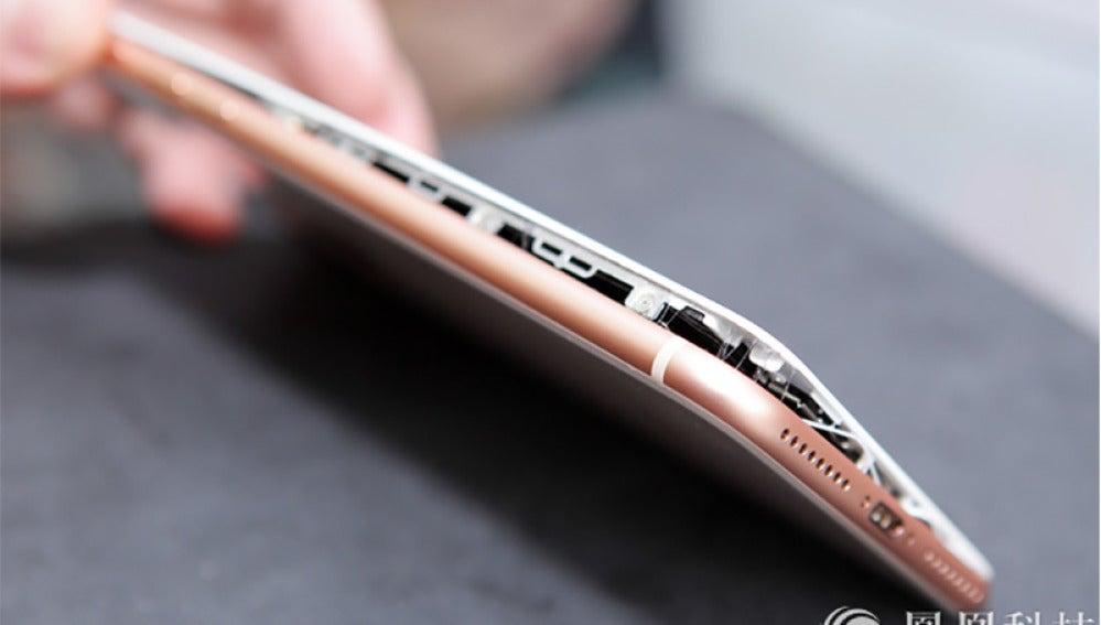 iPhone 8 con la batería mal