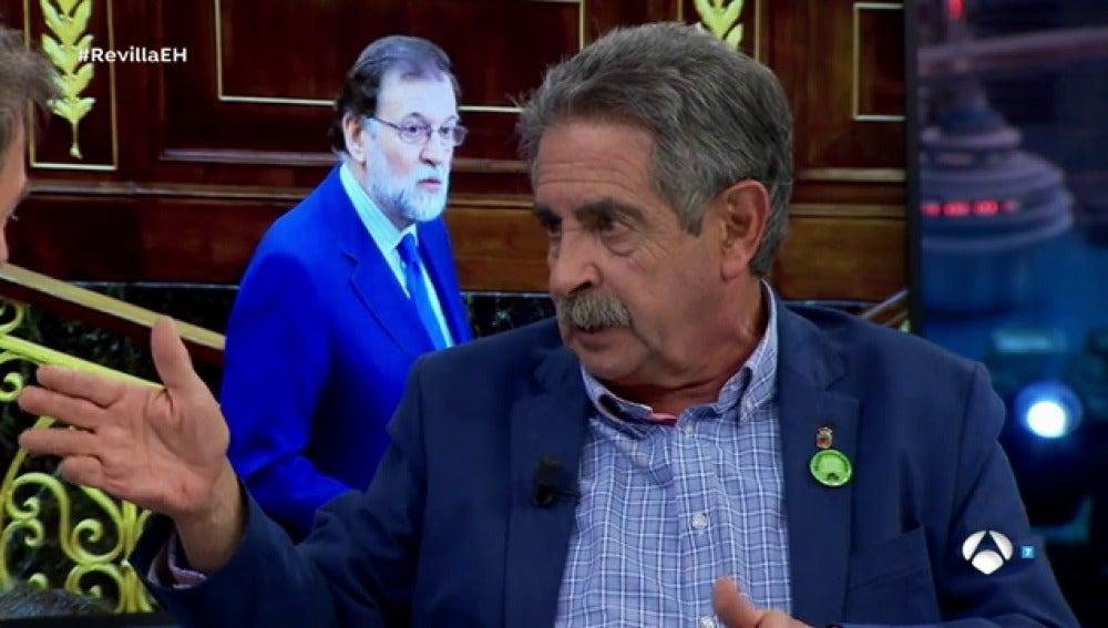 """Miguel Ángel Revilla: """"Yo abriría una negociación proponiendo una modificación de la Constitución"""""""