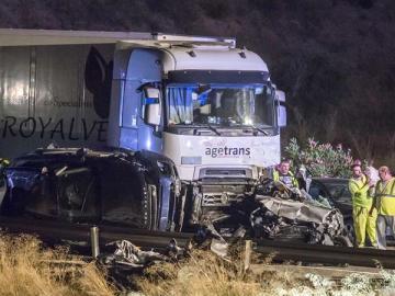 accidente de tráfico en Murcia