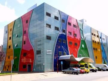 El hospital donde trabajaba la mujer