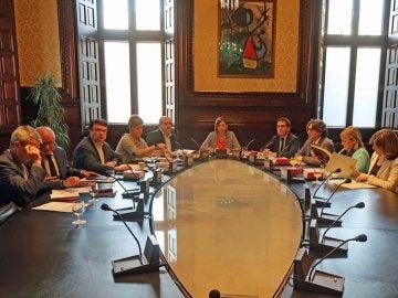 Mesa del Parlament de Cataluña