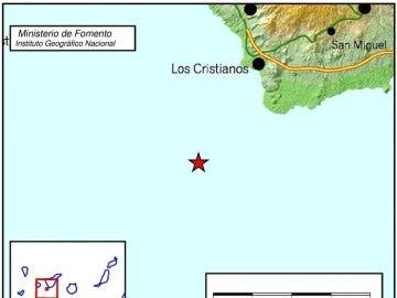 Terremoto en Tenerife