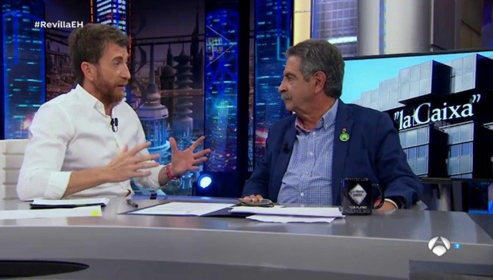 """Miguel Ángel Revilla: """"Cataluña es una potencia en cuanto al turismo y se la pueden cargar"""""""