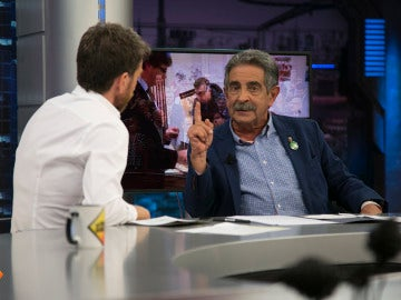 """Miguel Ángel Revilla: """"El problema es que hay más de dos millones de catalanes enfadados con España, y puede que tengan alguna razón"""""""