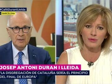 """Durán i Lleida: """"Creo que los pasos dados por Puigdemont le hacen muy difícil una marcha atrás"""""""