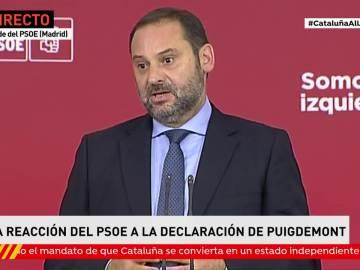 """PSOE acusa a Puigdmeont de """"abusar"""" de la buena fe de quienes pedían diálogo"""