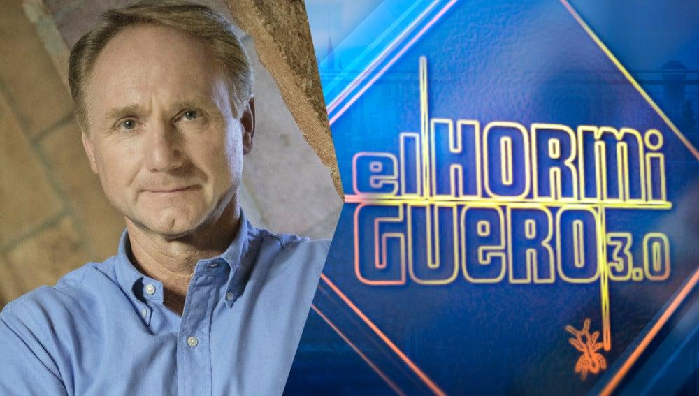 El escritor Dan Brown presentará su nuevo libro el lunes en 'El Hormiguero 3.0'