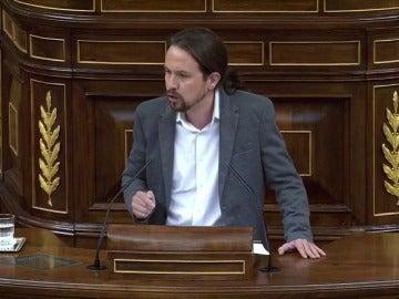 """Iglesias insta a Rajoy a negociar y no aplicar el 155: """"Señor Rajoy, deje de romper España"""""""