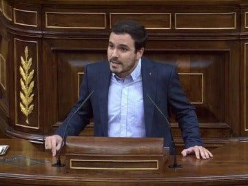 """Garzón insiste en que este es """"un problema de naturaleza política y así hay que abordarlo"""""""