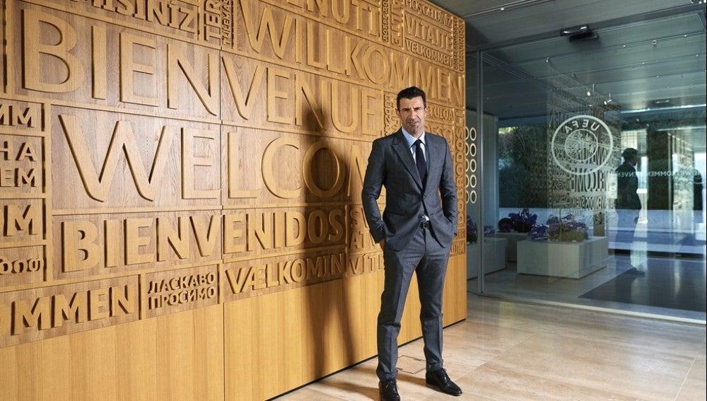 Luis Figo, nuevo asesor de la UEFA