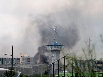 Trece reos murieron y al menos ocho más resultaron gravemente heridos en un motín en el Penal de Cadereyta