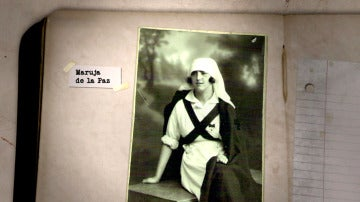 Así era Maruja de la Paz, enfermera a las órdenes de Carmen de Angoloti