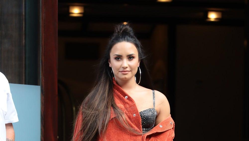 Demi Lovato por las calles de Nueva York antes del concierto
