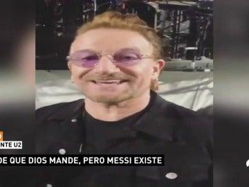 Así se vivió el triunfo de Argentina en pleno concierto de U2 en Buenos Aires