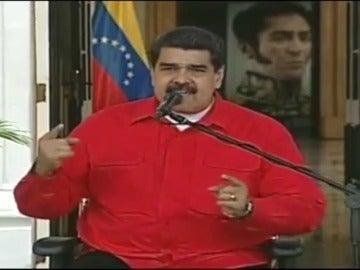 """Maduro pide a Felipe VI una """"indemnización histórica"""" a los pueblos indígenas"""