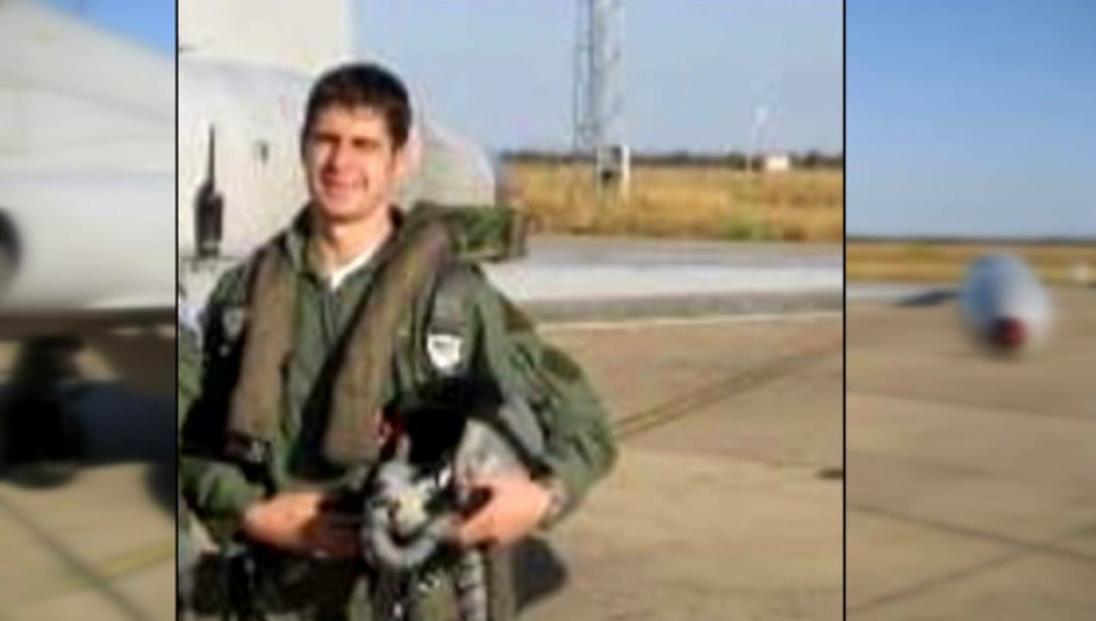 Borja Aybar, el piloto que ha muerto en el accidente de su Eurofighter