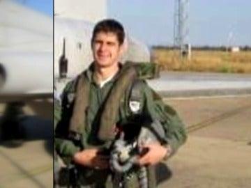 Borja Aybar, el piloto que ha muerto en el accidente de su Eurofighter