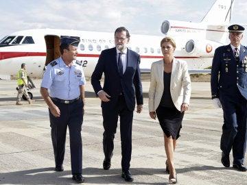 Rajoy transmite solidaridad y afecto a los familiares del piloto fallecido