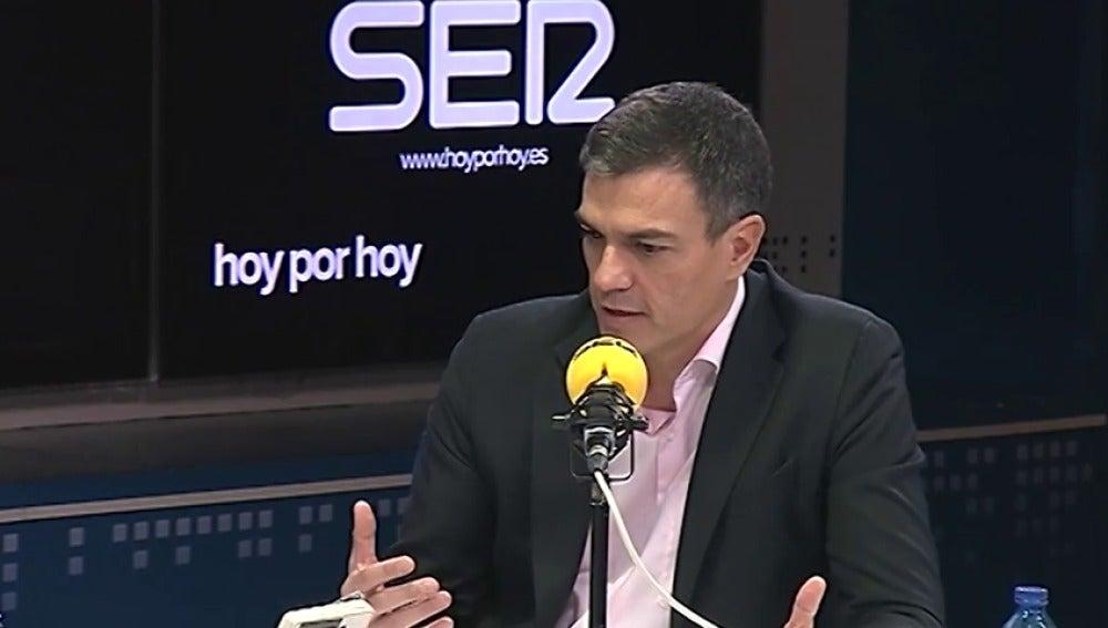 """Sánchez: """"Nadie, salvo Rivera, quiere aplicar el artículo 155"""""""