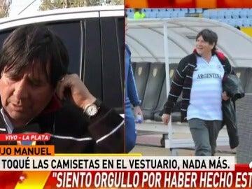 El Brujo Manuel, el sanador que 'ayudó' a Messi a marcar su 'hat-trick'