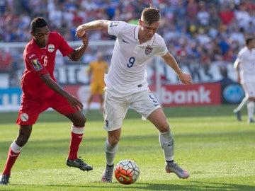 Aron Johannsson, futbolista de Estados Unidos que pudo jugar el Mundial con Islandia