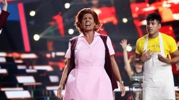 Diana Navarro se deja la piel para clonar a Aretha Franklin y su famoso 'Think'
