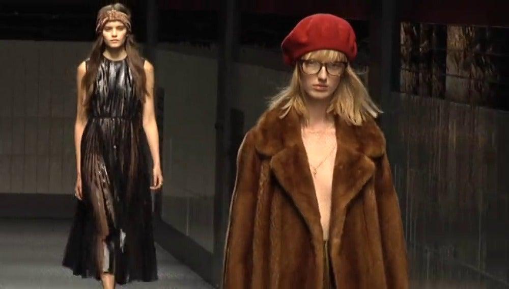 La marca Gucci abandona las pieles de animales