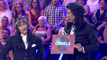 David Amor y David Fernández cantan Camela 'a lo Milli Vanilli'