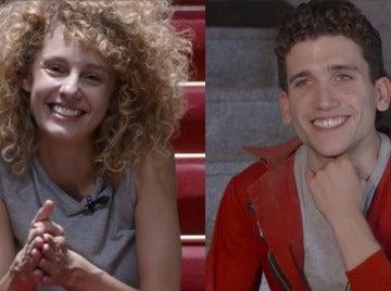 Denver y Mónica, enfrentados en el test imposible de 'La casa de papel'