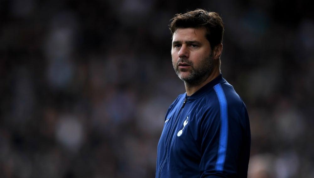 Pochettino, con el Tottenham