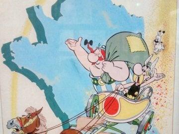 Un cómic de Astérix subastado por 1,4 millones de euros, récord de Uderzo