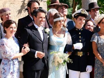 La boda de Carmelo y Adela