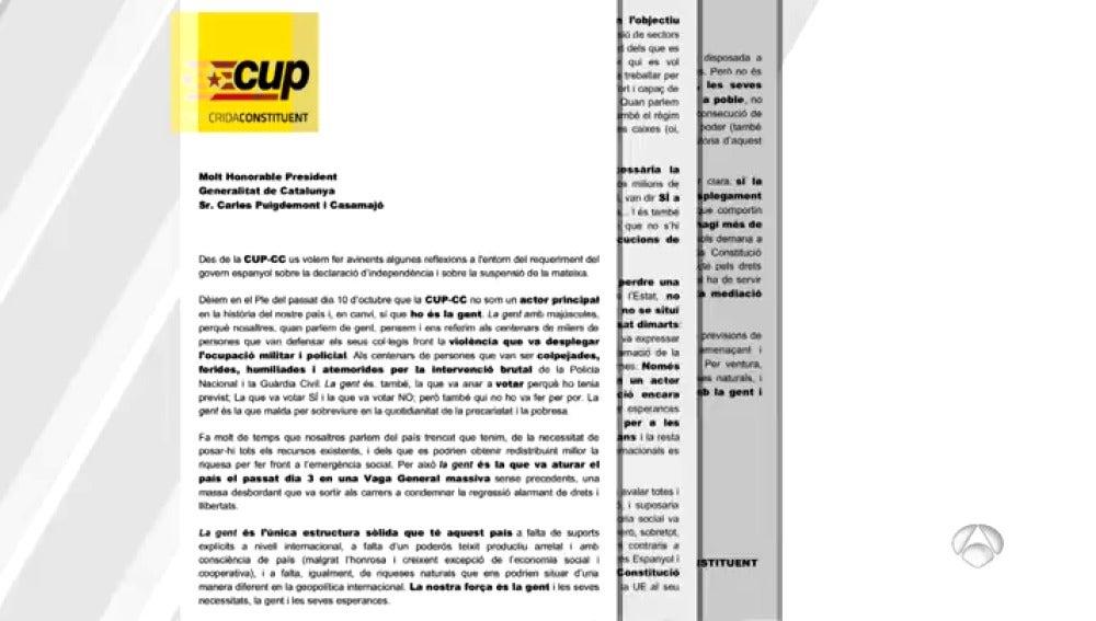 CUP PRESIONES