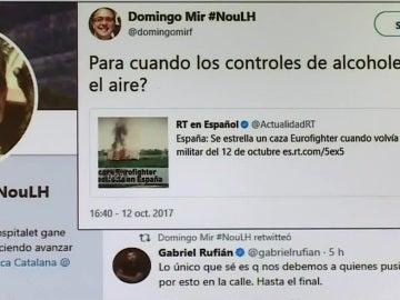El tuit de Domingo Mir