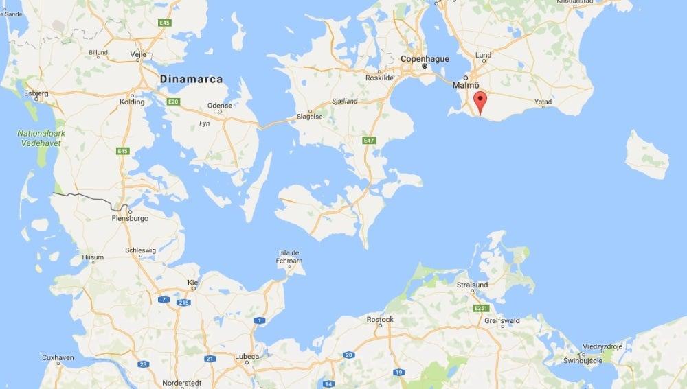 Trelleborg, en Suecia
