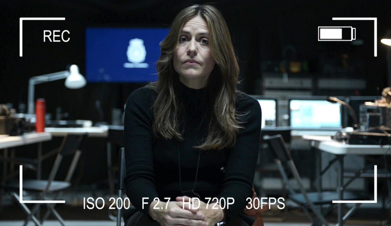 La inspectora Raquel Murillo