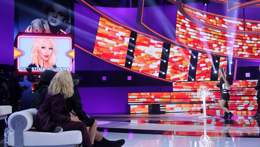 Christina Aguilera, Cyndi Lauper o Ana Torroja, entre las imitaciones de la tercera gala de 'Tu cara me suena'