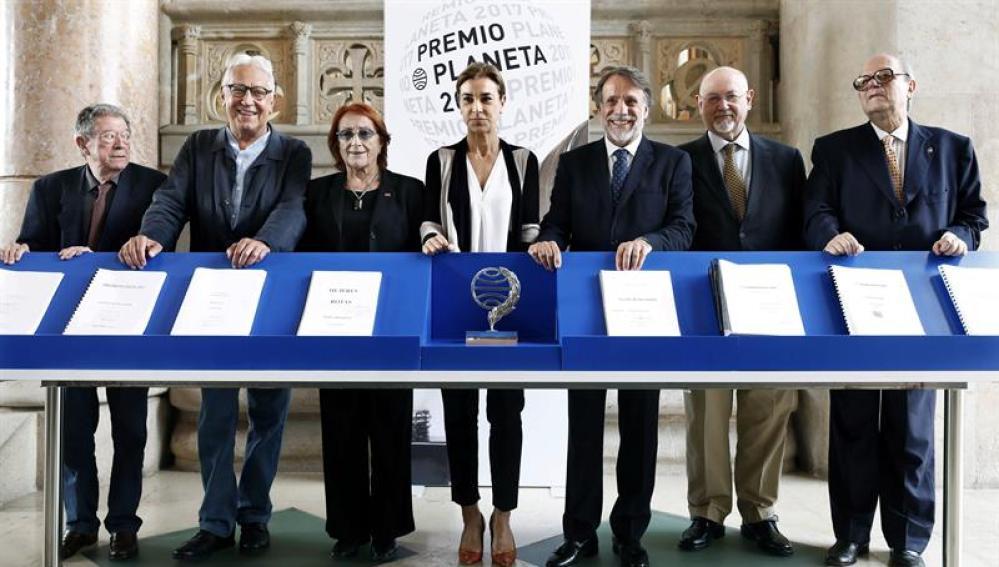 Jurado Premio Planeta 2017