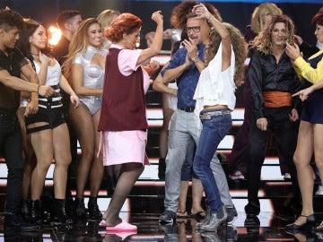 Diana Navarro gana la tercera gala de 'Tu cara me suena' con su interpretación de Aretha Franklin