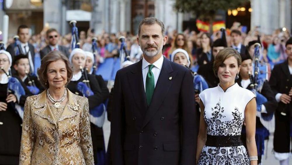 El vestido de la Reina Letizia, de inspiración oriental
