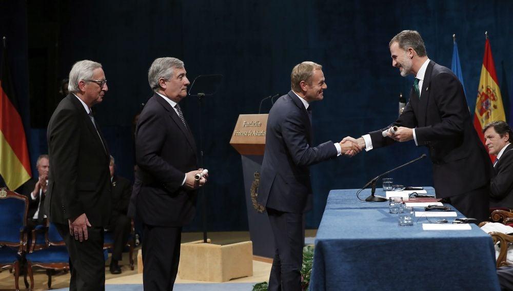 Premio Princesa de Asturias 2017 de la Concordia otorgado a la Unión Europea