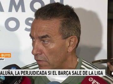 """Paco Buyo: """"¿Una liga sin el Barça? El gran perjudicado sería Cataluña"""""""