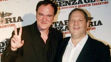 Tarantino y Harvey Weinstein