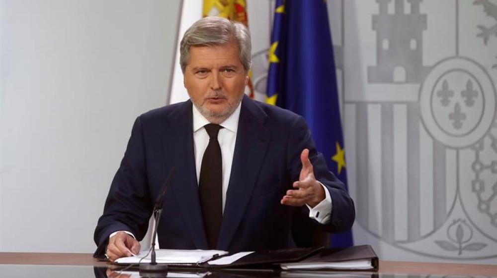 El portavoz del Gobierno y ministro de Cultura, Íñigo Méndez de Vigo